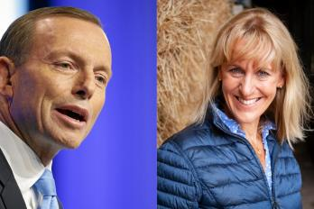 Tony Abbott Minette Batters