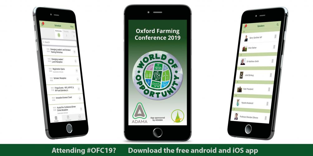 The App is Back | Oxford Farming Conference